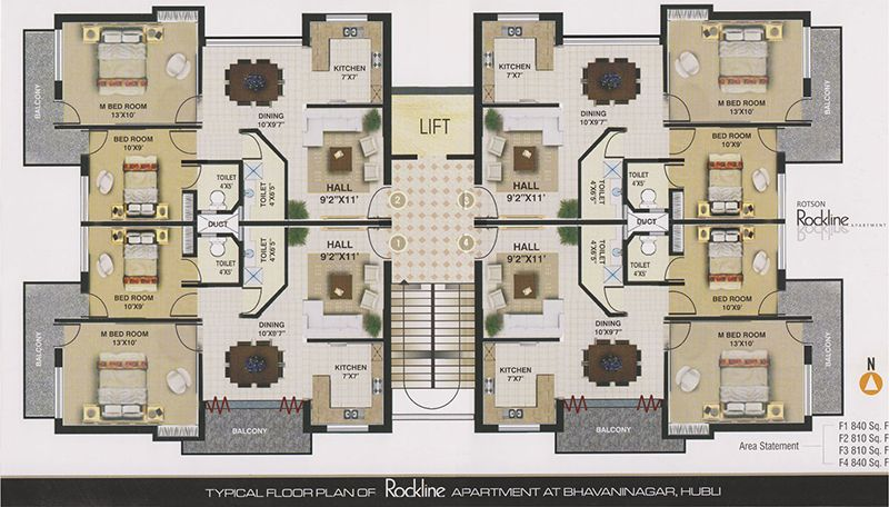 Apartment floor plans designs gurus floor for Walk up apartment floor plans
