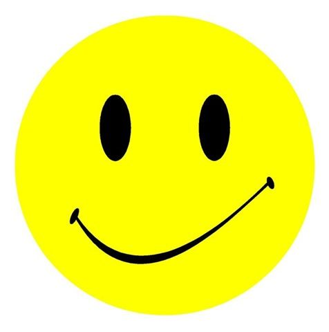 yellow and black smiley face with slight smirk clip art smiley rh pinterest com free clipart happy face free smiley face clip art download