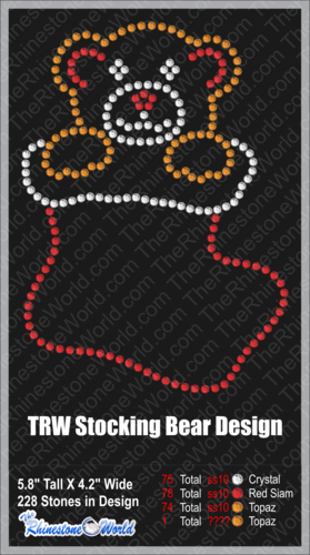 TRW Bear Stocking (File Download Version w/ Mock Up)