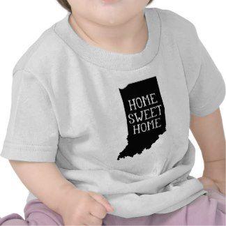 Home Sweet Home Indiana Shirt | Toddler Shirt Gift for Toddler #toddlergift #indiana #tshirt