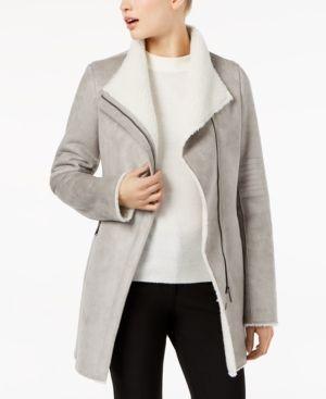 Calvin Klein Long Flyaway Cardigan & Reviews Sweaters