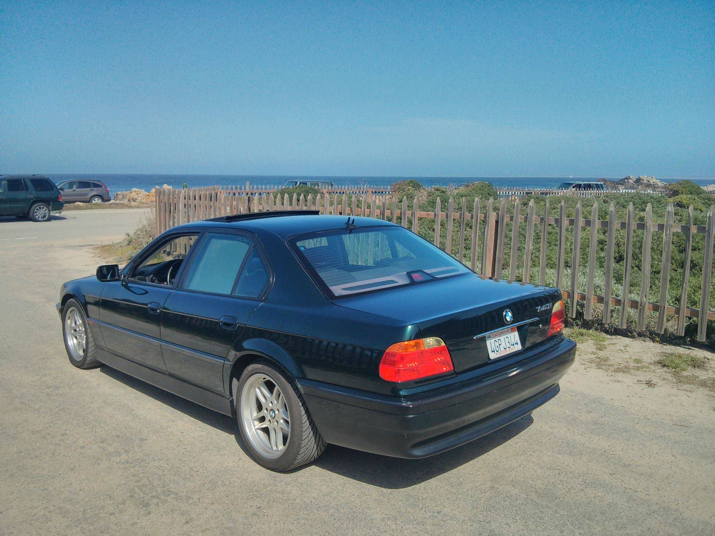 hight resolution of 2000 bmw 740i sport oxford green