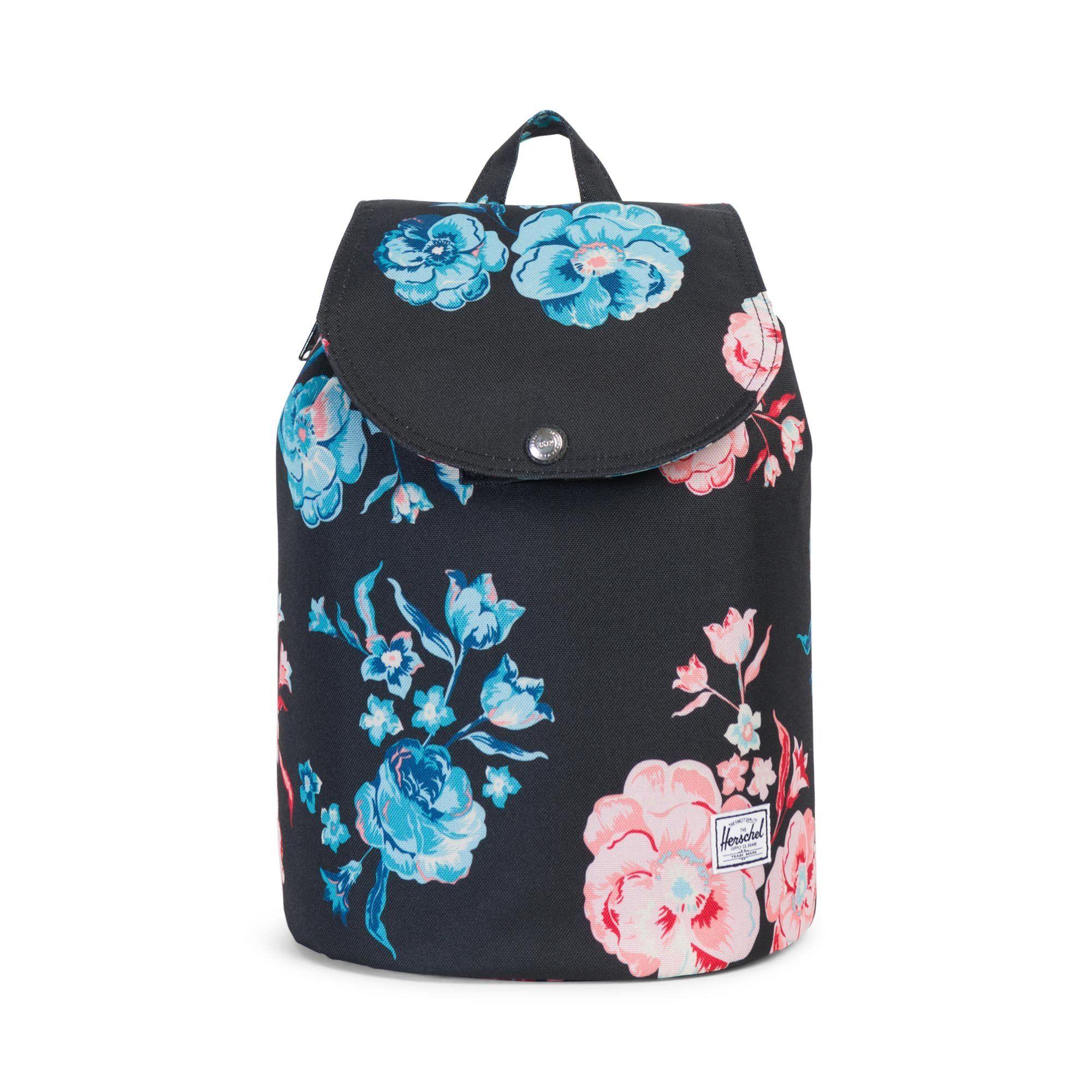 herschel rucksack blumen mynewbag herschel lederhandtaschen ledertasche und taschen. Black Bedroom Furniture Sets. Home Design Ideas