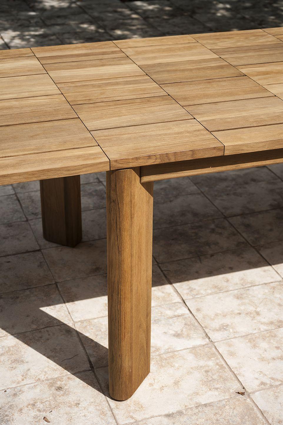 Brick 002 Extendable Table Roda Table Teak Table Table Furniture [ 1444 x 962 Pixel ]