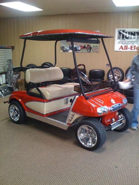 Corvette Golf Cart Karts Amp Mowers Custom Golf Carts