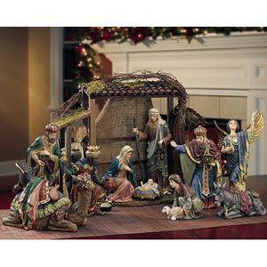 Phenomenal Costco Kirkland Signaturea Nativity Set 15 Pieces Download Free Architecture Designs Crovemadebymaigaardcom