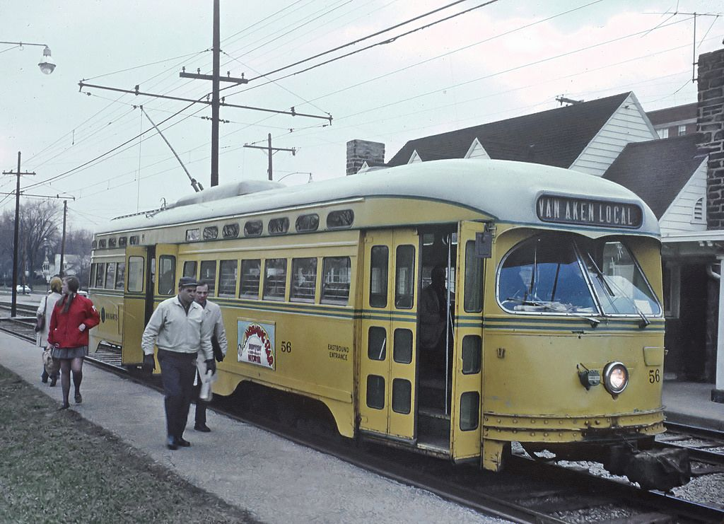 1971 CLEVELAND Shaker Heights Rapid Transit PHOTO