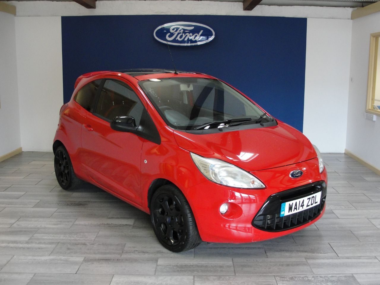 Ford Ka 1 2 Grand Prix 3dr Start Stop Hatchback Petrol Red