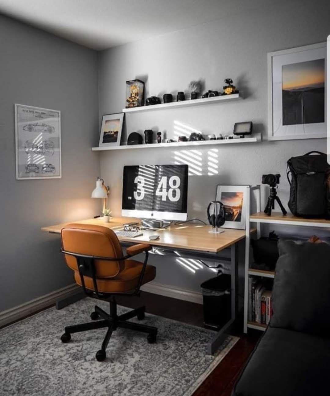 Minimalist Homeoffice Design: .Workspace . . .Via : @designyourworkspace