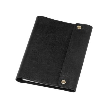 4f86dfc9f6 Mulberry Gift Kaleidoscope | Black - A5 Notebook Cover in Black Natural  Leather