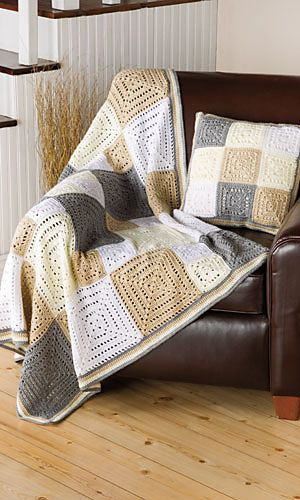 Ravelry: City Blocks Throw & Pillow pattern by Margret Willson - Free pattern.