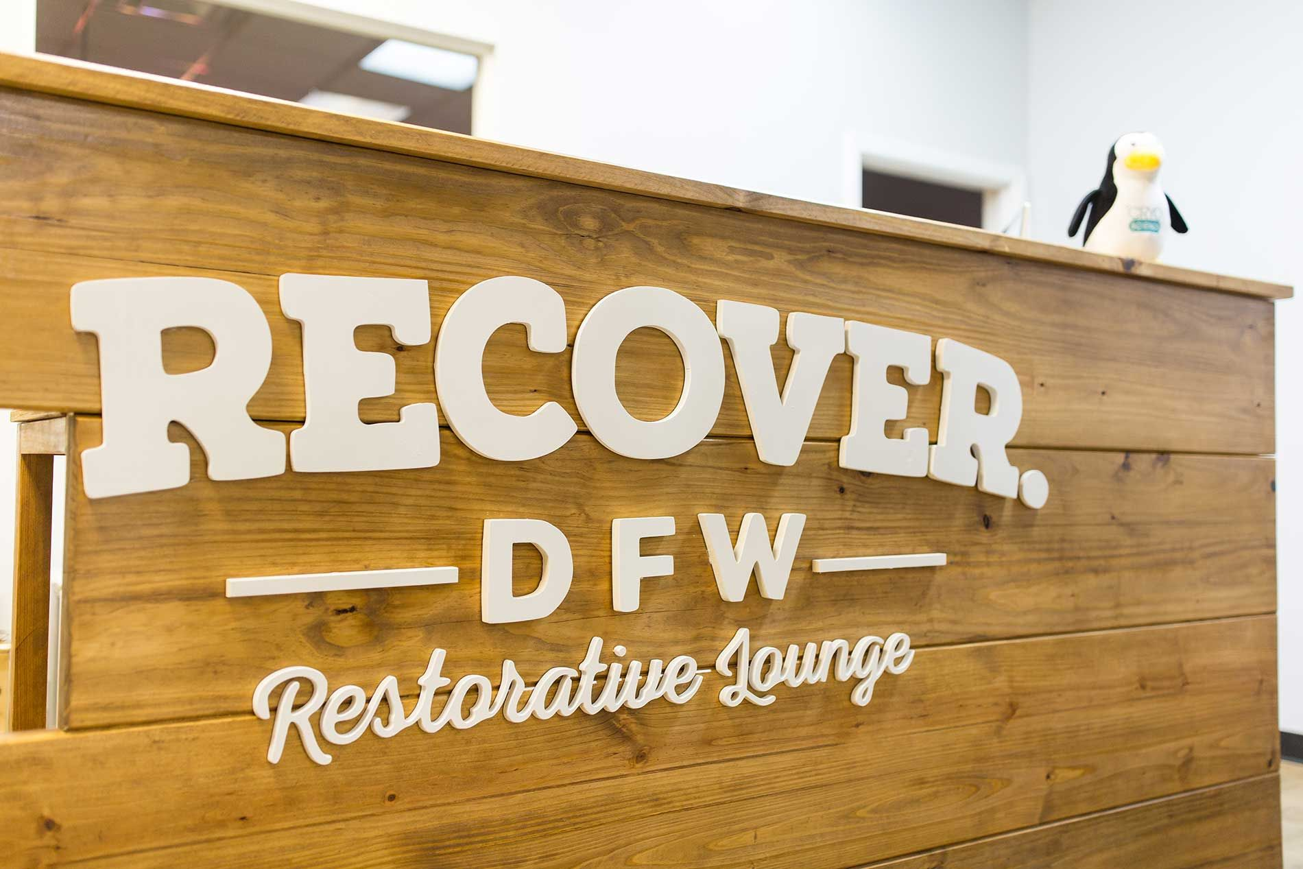 Recover DFW is a restorative lounge located in North