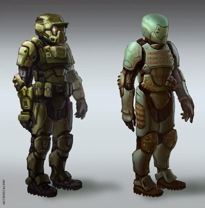 Sci Fi Soldier Armor | www.pixshark.com - Images Galleries ...