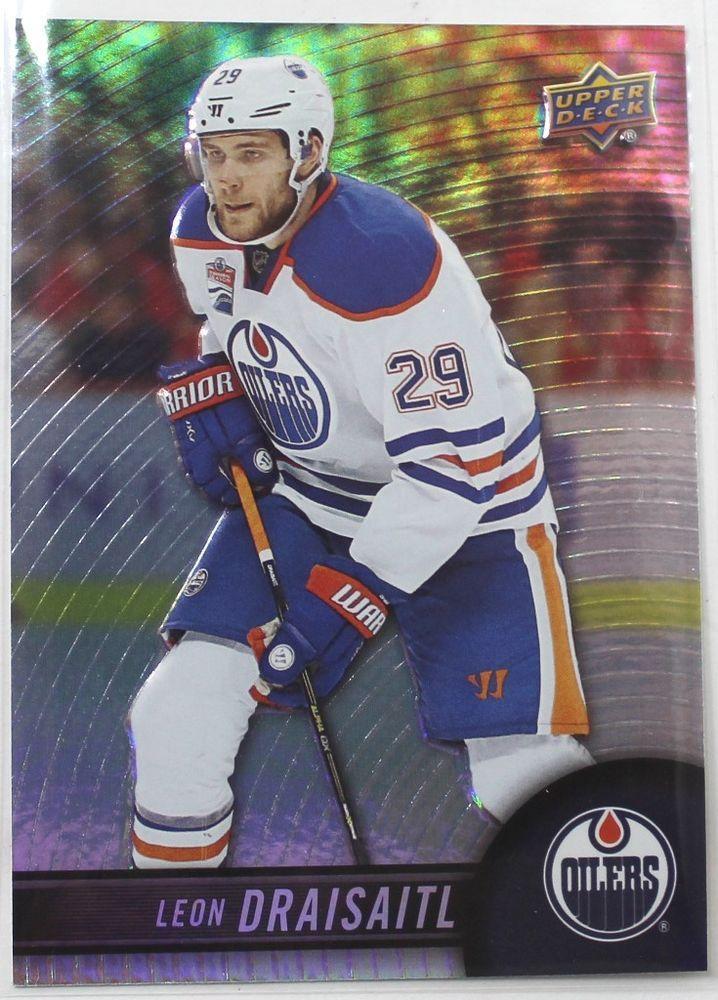 2018 19 Upper Deck Tim Hortons 60 Leon Draisaitl Ebay In 2020 Tim Hortons Hockey Cards Hockey