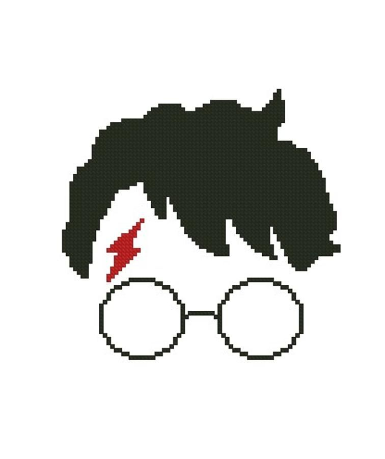 Harry Potter FREE cross stitch pattern | Craftsy | Punto de cruz ...