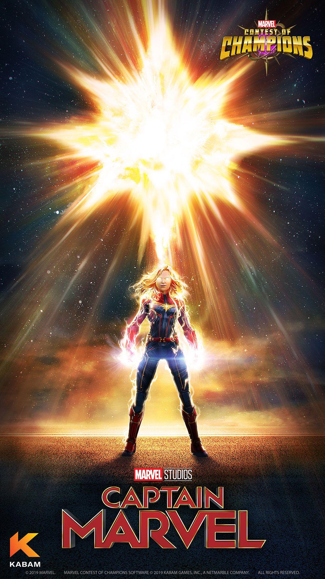 Capitana Marvel Captain Marvel Marvel Champions Marvel