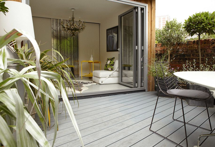 amazing-shabby-chic-terrace-design-with-glass-door-and-outdoor