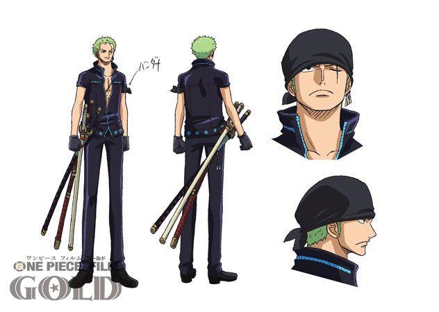 Finalmente é possível ficar a conhecer a moda dos Straw Hats em One Piece Film Gold! Os trajes foram desenhados por Oda-sensei, exclusivamente para o filme.