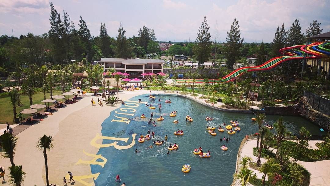 Jogja Bay Waterpark Wisata Kolam Renang Di Jogja Yogyakarta Kini Sudah Berubah Banyak Sekali Perubahan Yang Terjadi Pada K Kolam Renang Asia Tenggara Lautan