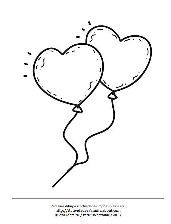 Globos de corazón   Bienvendia   Pinterest   Globos de corazones ...