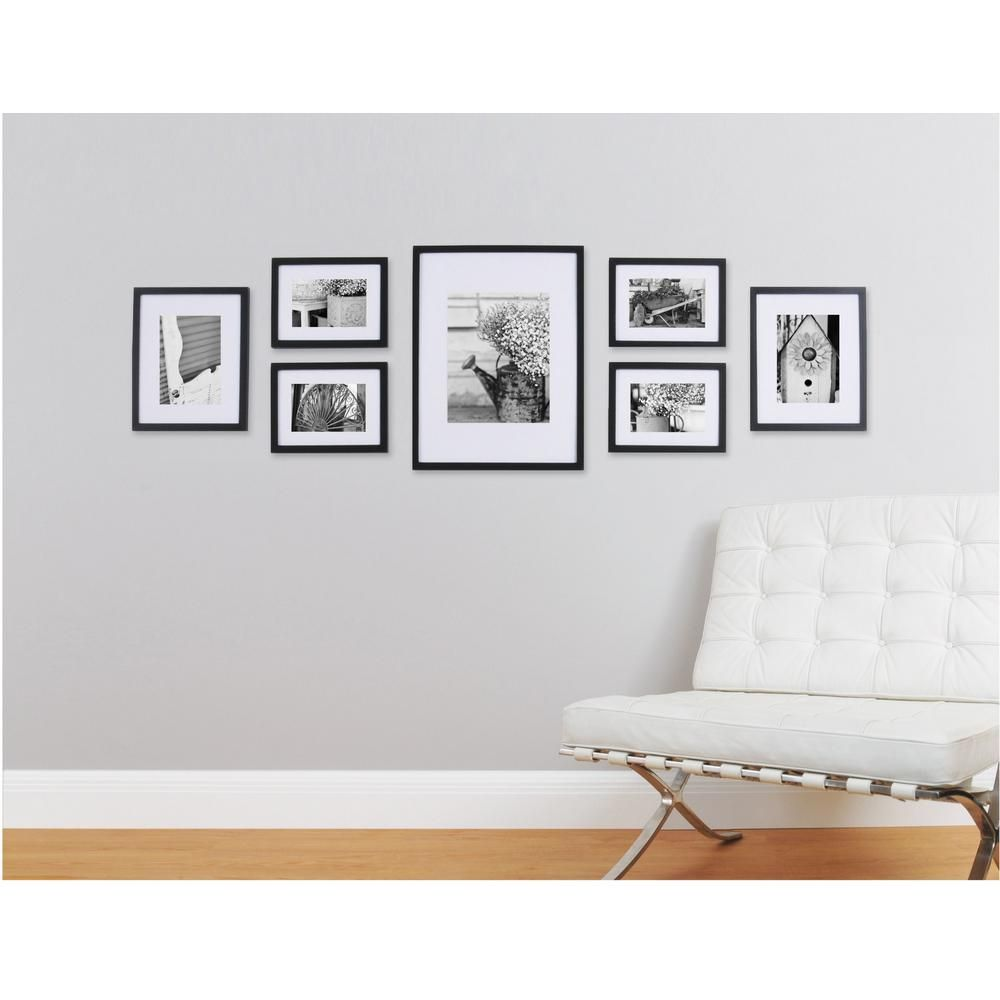 Pinnacle Gallery Perfect 7 Piece Wall Frame Set Black in 2018 ...