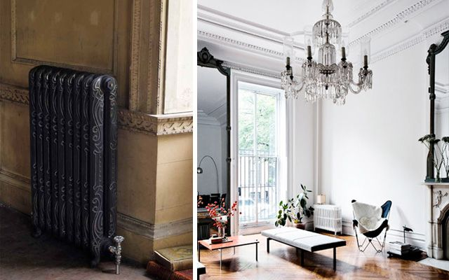 Decofilia blog c mo decorar con radiadores antiguos de hierro fundido decoracion pinterest - Radiadores de casa ...
