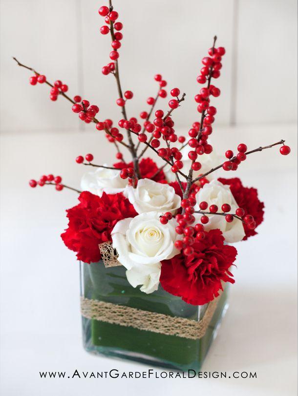 Christmas Avant Garde Floral Design Japanese Christmas Flower Arrangements Diy Christmas Flowers