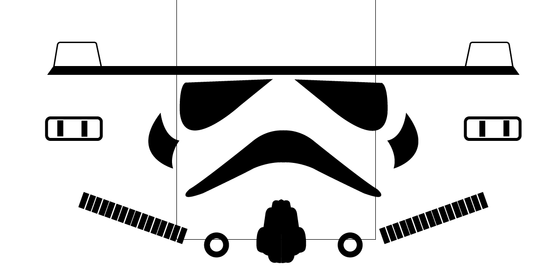 Stormtrooper Template Kids Birthday Ideas Star Wars