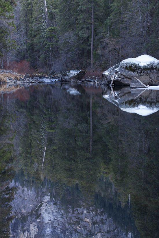 Yosemite National Park in January 2014