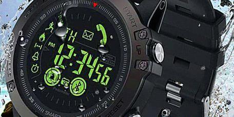 08752eca2a66 Este Reloj Inteligente Estilo Militar Es La Mejor Idea de Regalo Para Un  Hombre