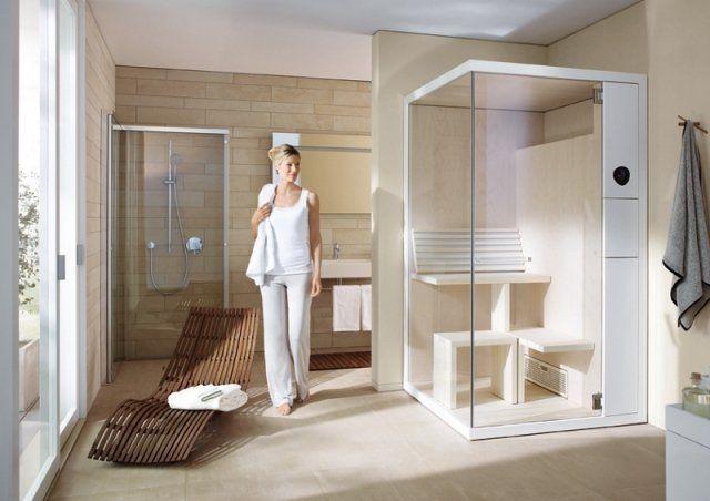 amnagement salle de bains avec sauna 28 ides inspirantes - Salle De Bain Avec Sauna