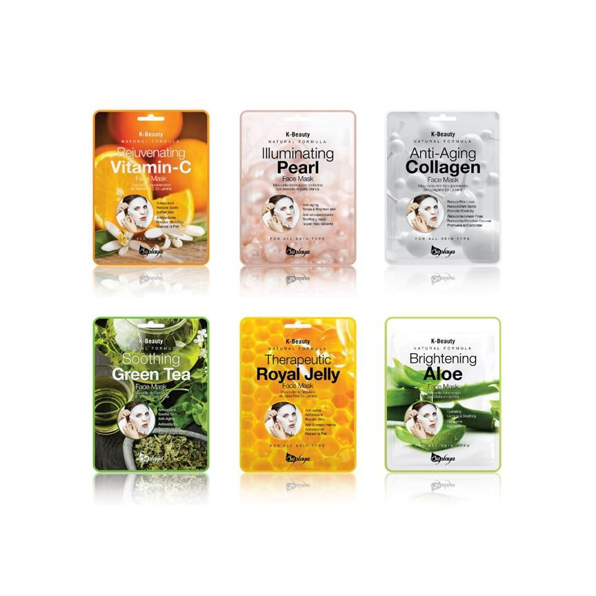 Photo of K-Beauty Everyday Face Mask Essential 6 Pack