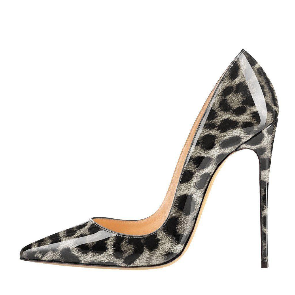 EKS Zapatos de Tacón Mujer, Color Negro, Talla 37 EU