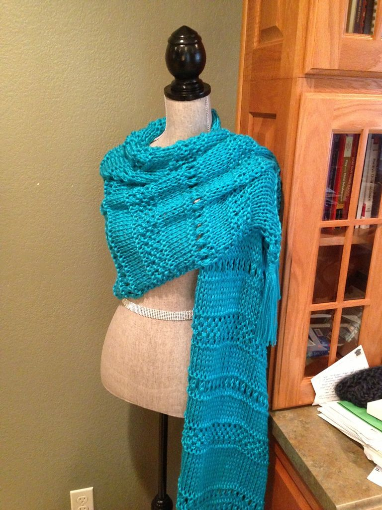 Ravelry: Triple Stitch Prayer Shawl by Louis Chicquette | Knitting ...