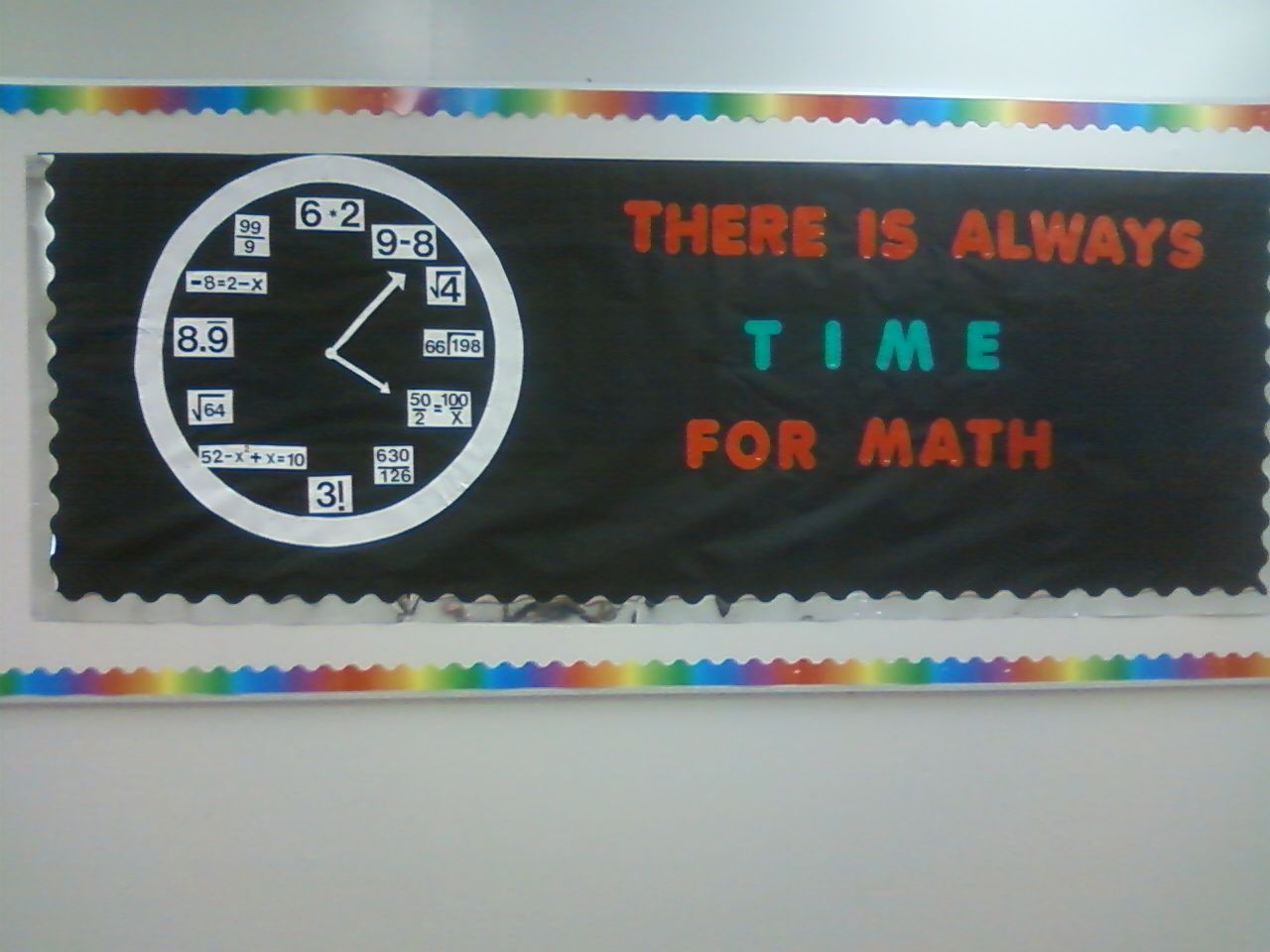 Classroom Decorating Ideas Middle School Math : Middle school math bulletin board ideas time for