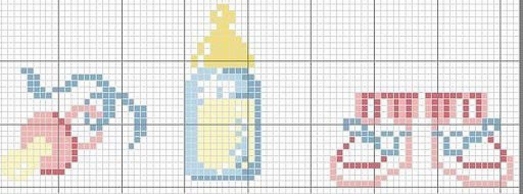 esquemas punto cruz bebe | Px Baby | Pinterest | Punto de cruz ...