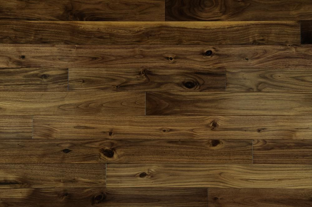 Hardwood Prefinished American Black Walnut Collection Walnut - Black walnut hardwood flooring
