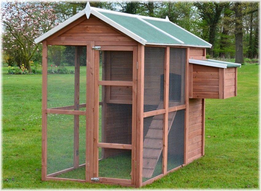 Premium Hühnerhaus Hühnervoliere , Hühnerstall