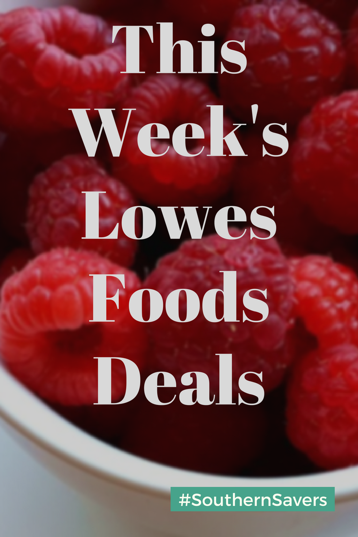 Lowe's Foods Weekly Ad & Deals Lowes food, Food shopping
