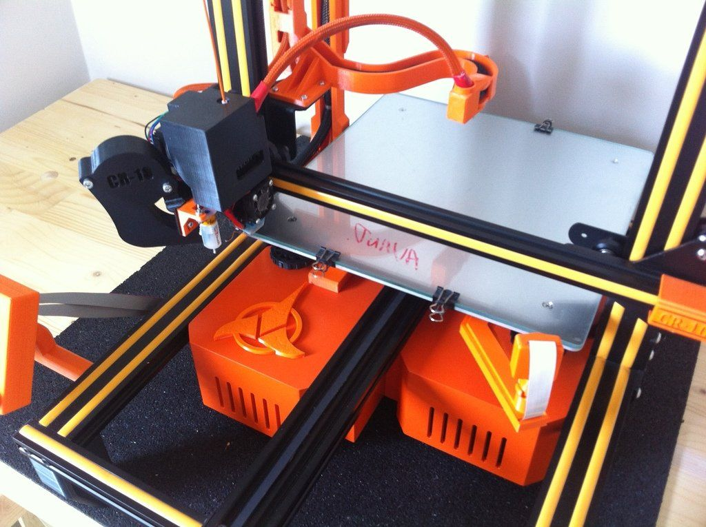 New Standalone Cr10 Cr10s Tornado En Etude By Razorbac Thingiverse Tornado 3d Printer Projects 3d Printing
