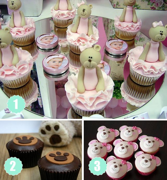 Teddy Cupcake Ideas - from cake decorating expert to part time ...