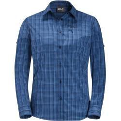 Jack Wolfskin Funktions-Bluse Frauen Centaura Flex Shirt Women Xs blau Jack Wolfskin