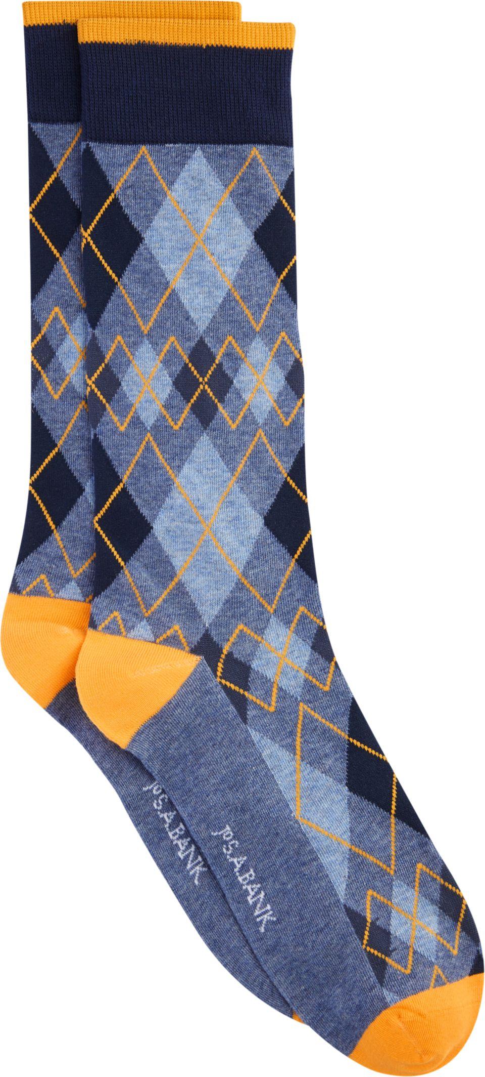 7408afa51f0f Jos. A. Bank Diamond Pattern Socks, 1-Pair   Products   Patterned ...