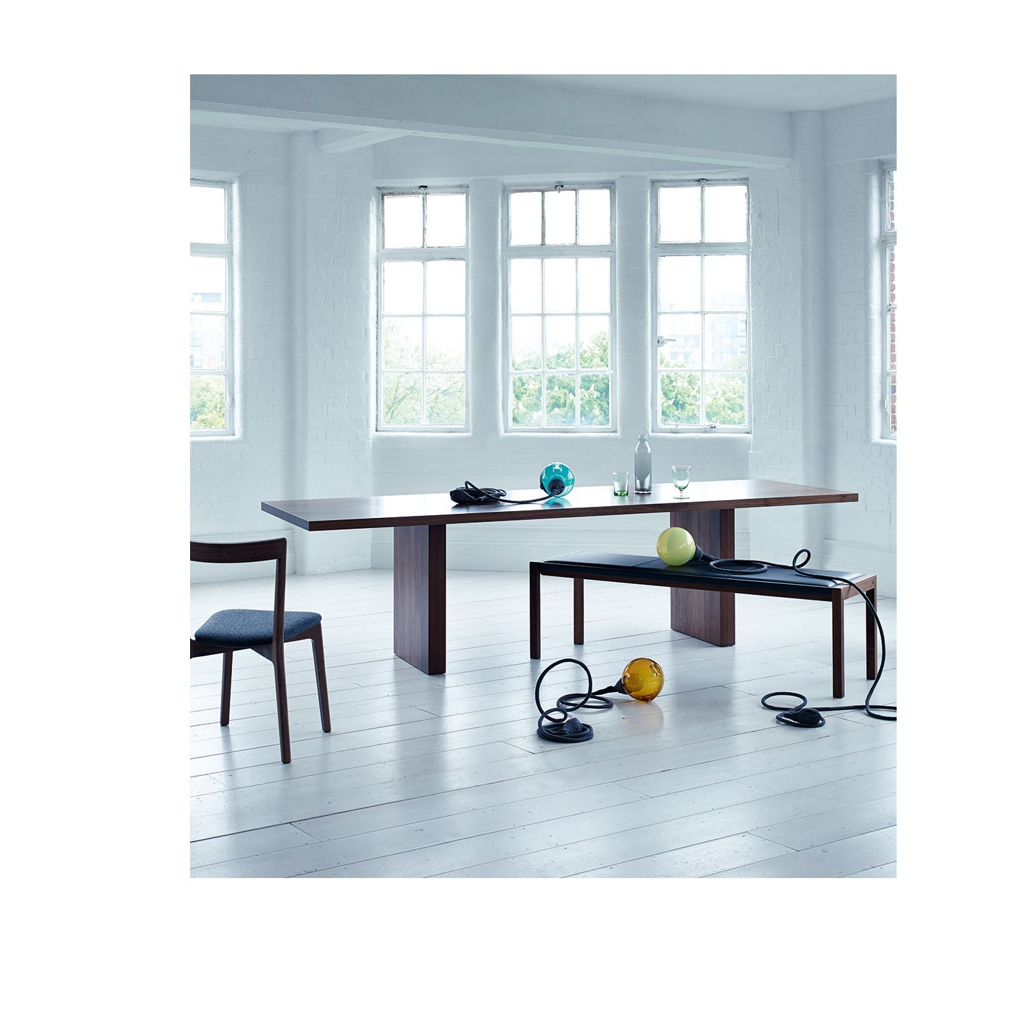 Heal's Balance Dining Table   Rectangular Tables   Dining Tables   Furniture   Heal's