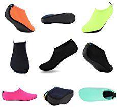 Mens Womens Barefoot Water Skin Shoes Aqua Socks Barefoot Shoes for Beach Swim Surf Yoga