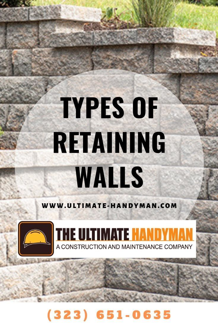 types of retaining walls in los angeles ca everything on wall types id=52216