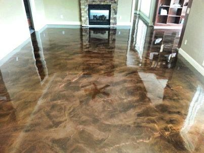 Epoxy Marble Designer Epoxy South Bend In Concrete
