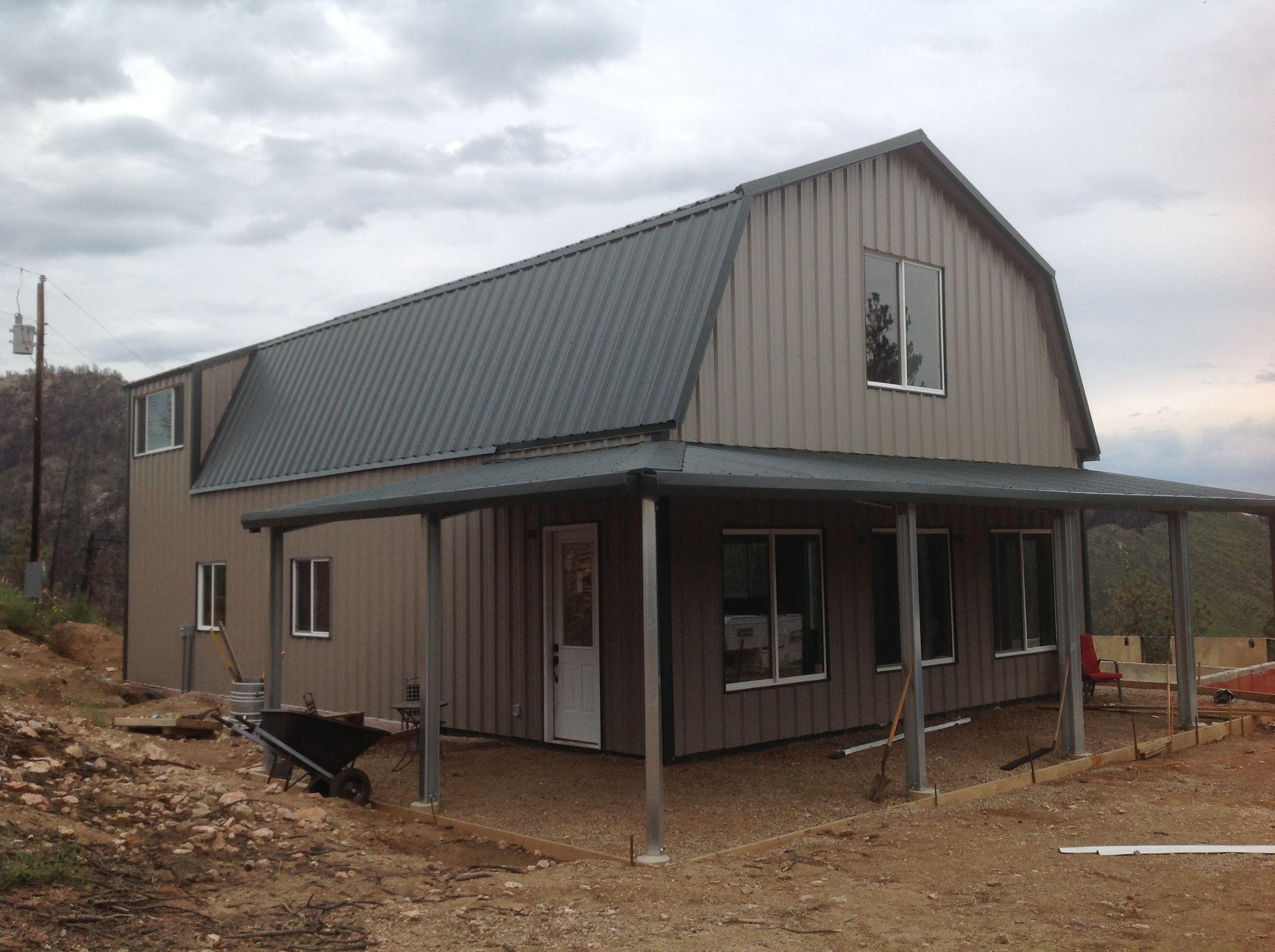 Colorado Home Kit Ameribuiltsteel Com Barndominium Floor Plans Barndominium Metal Building Homes