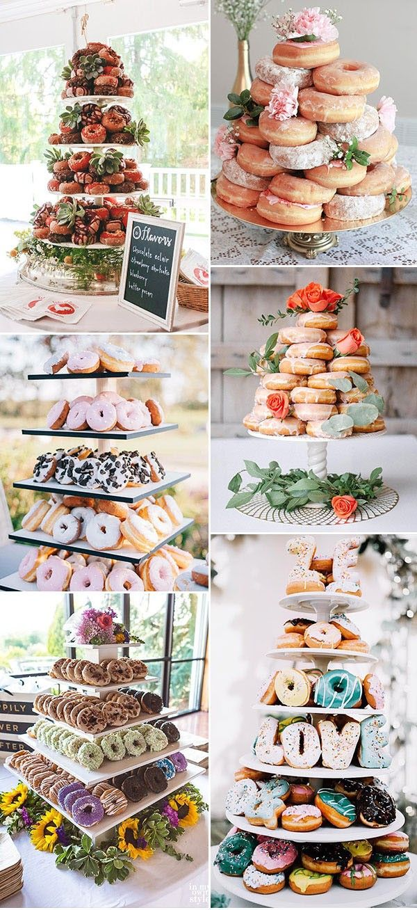 30 Best Wedding Donut Walls Displays For 2021 Wedding Donuts Donut Bar Wedding Donut Stand