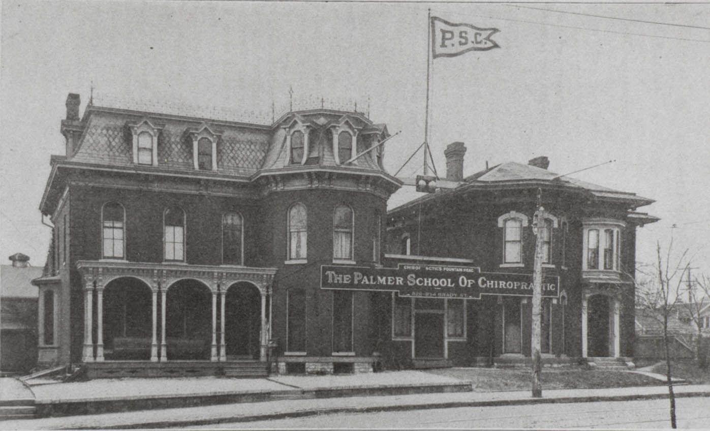 Image result for palmer college 1897